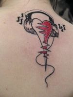 Love for Music Tat by TheMassacre15