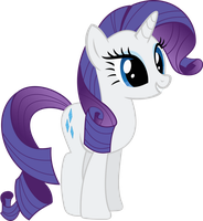 Peppy Rarity Vector by Lextsy