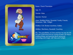 Sonic X: FIU eye-catch card: Chuck Thorndyke by bvge