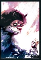 Where the Wild Things Are by Rafael Albuquerque by AshcanAllstars
