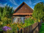 Neighbor's cottage by Alouette-Photos
