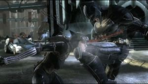 Catwoman vs Batman by TimothyB25