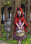 Little Red Riding Hood - Classic Fairy Tales by tonyperna