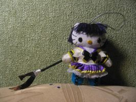 Sailor Saturn hellokitty plush by Rens-twin