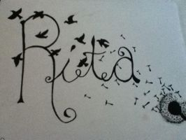 Name Design- Rita by dawn-dreamer