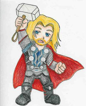 Chibi Thor by kawaii-candy-chan