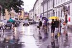 Rainy Evening in Innsbruck to my friend Dan Stefan by Rikitza