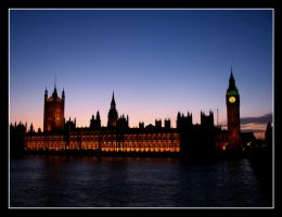 Houses of Parliament by SurfGuy3