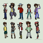 Nuzlocke Clothes Swap Meme by Waltonsaurus