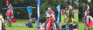 Jousting At Hedingham Castle by hesir