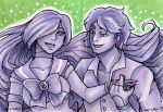 ACEO Sailor X and Kin Boei by nickyflamingo