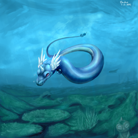 Dragonair by Caindra
