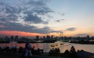 Sunset over Tokyo - no text by caliaponia