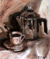 Coffee Pot by yuiyi