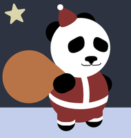 Panda Clause by JRHill