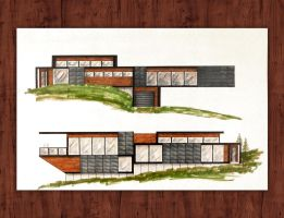 East and West Elevations by rvtanner