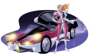 Penelope Pitstop 2020 by LawrenceChristmas