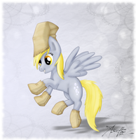 Commission: Derpy Hooves by Aseethe