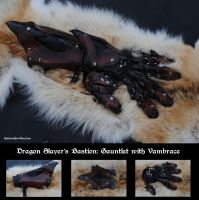 Dragon Slayer: Gauntlet by Epic-Leather