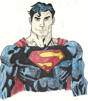 Commission: Superman by RULBigTalon