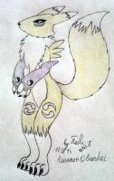 Renamon by tails-zet