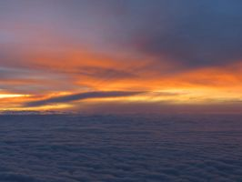 Sunrises and sunsets, from ground and sky by skylark1983