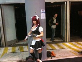 yoko littner maid be working by majinmarron
