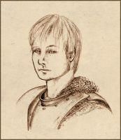 Arthur Pendragon Sketch by Thilil