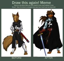 MEME Before and After by Ulrich-Ironpaw
