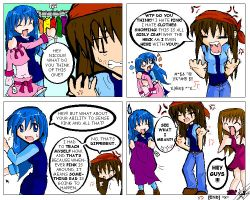 I hAtE pInK - anoter SO3 comic by tae-