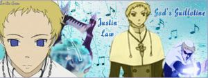 Soul Eater Banner - Justin Law by BishouHunter