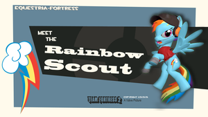 Meet the Rainbow-Scout by CobbaltCO