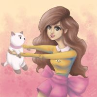 Bee and Puppycat | Fanart by artfreaksue