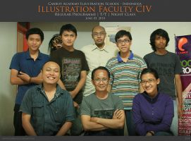 Illustration Faculty CIV by carrotacademy