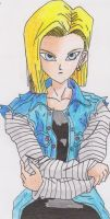 Android 18 by Evex92