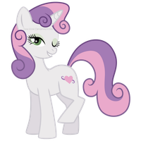 Adult Sweetie Belle by Zeal-Hime
