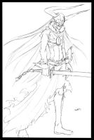 BLEACH.Full Hollow Ichigo by WickedStar