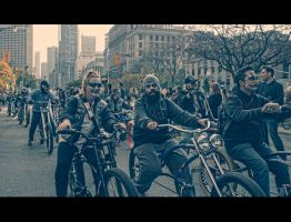 Zombies on Bikes by Jack-Nobre
