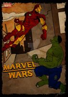 Hulk VS IronMan by GTR26