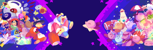 Kirby's everywhere by pepsiie