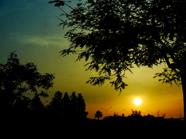 Sunset on The 27th of May -1- by IoannisCleary