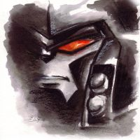 TF animated ink-work -Megatron by Taleea