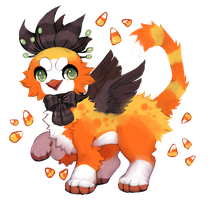 Candycorn Peacat (OTA) CLOSED by dexikon