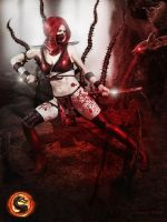 Cosplay Scarlet Mortal Kombat 9 by AsherWarr