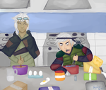 FAE: Mini Event: Cooking Time! by LyricaLupin