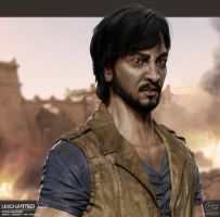 Uncharted Series - Atoq Navarro Illustration by Rhythem02
