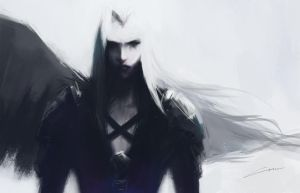 Sephiroth (Final Fantasy VII) by Alex-Chow