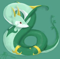 Jalorda - Serperior by Sparradile