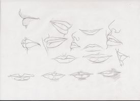 mouth studies by ultraseven81