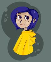 Coraline by GoldKitty